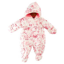 Girls' Hooded Pram Snowsuit