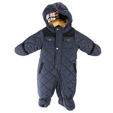 Baby Hooded Pram Snowsuit