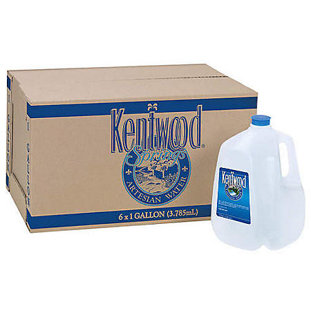 Kentwood Springs Artesian Water (1 gal., 6 pk.)