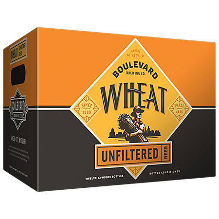 Boulevard Wheat Unfiltered Beer (12 fl. oz., 12 pk.)