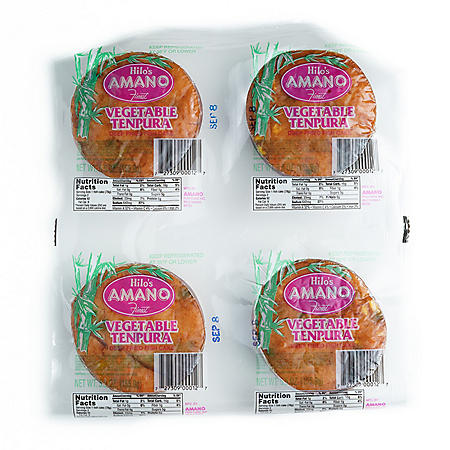 Hilo's Amano Finest Vegetable Tempura Deep Fried Fish Cake (5.5 oz. ea, 4 ct.)