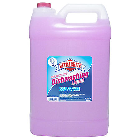 Ultrabrite Dishwashing Liquid - 2.5 gal