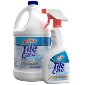 Activa Tile Care Bathroom Cleaner (128 oz. + 20 oz. Sprayer)