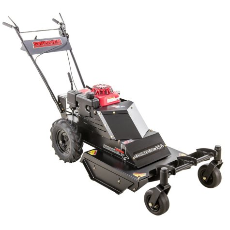 """Swisher 10.2HP Honda 24"""" Commercial Pro Walk Behind Rough Cut with Casters and Bonus Replacement Blade"""