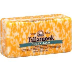 Tillamook Colby Jack Cheese (2.5 lbs.)
