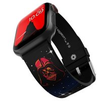 STAR WARS Officially Licensed Silicone Smartwatch Band Compatible with Apple Watch (38/40mm and 42/44mm) and Android Smartwatch with a 22mm Pin (Various Characters)