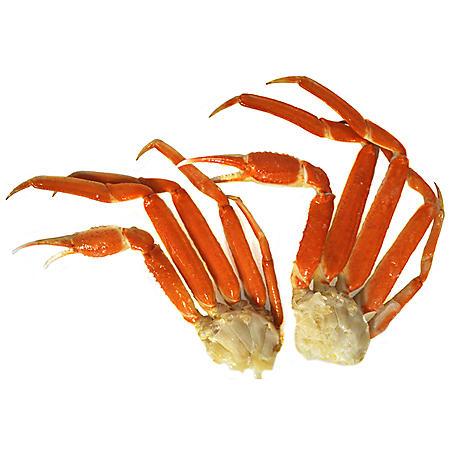 Snow Crab Clusters, Bulk Wholesale Case (10 lbs ) - Sam's Club