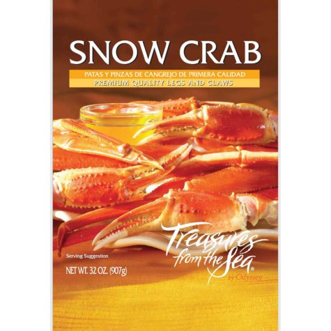 Treasures from the Sea Snow Crab - 2 lb.