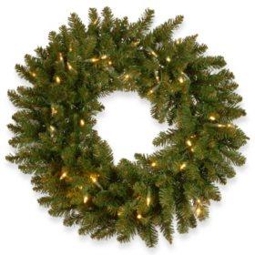 "National Tree Company 24"" Kingswood Fir Wreath"