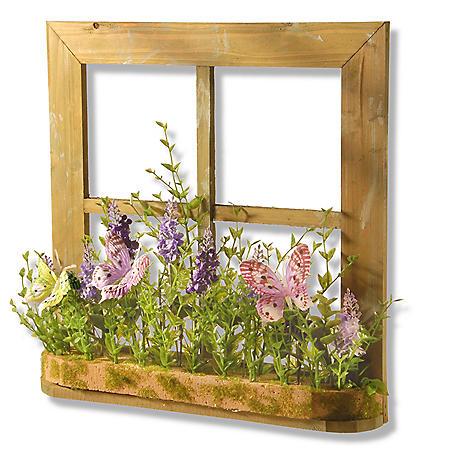 "National Tree Company 14"" Lavender Window Decor"