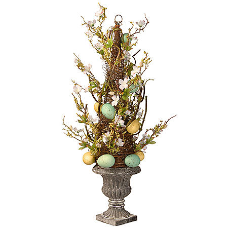 """27"""" Potted Easter Tree"""