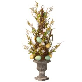 "27"" Potted Easter Tree"