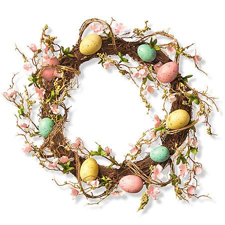 """18"""" Easter Egg Wreath"""