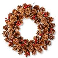 "National Tree Company 20"" Pinecone Wreath"