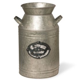 """National Tree Company Garden Accents 15"""" Antique Milk Can"""