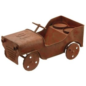 National Tree Company Metal Car Candle Holder
