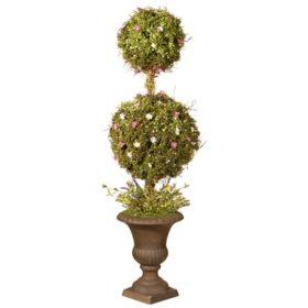 """National Tree Company 45"""" Spring Topiary Tree"""