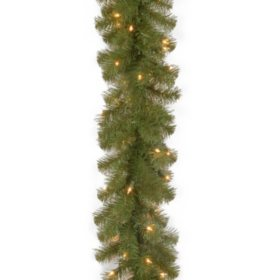 National Tree Company 9' North Valley Spruce Garland