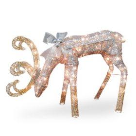"National Tree Co. 28"" Pre-Lit Reindeer Decoration"