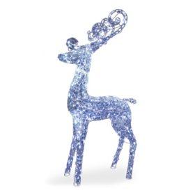 """National Tree Co. 60"""" Pre-Lit Reindeer"""