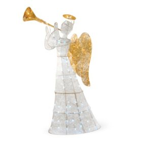 "National Tree Co. 60"" Pre-Lit Angel Decoration"