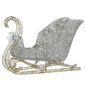 "National Tree Co. 48"" Pre-Lit Santa's Sleigh"