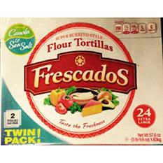 Frescados Flour Tortillas, Super Burrito Style (24 ct.)