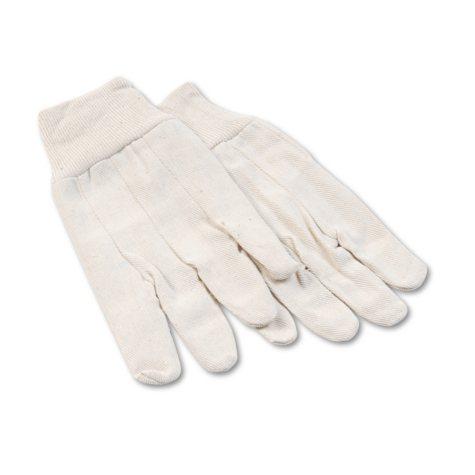 Boardwalk Cotton-Canvas Gloves, Large (12 Pairs)