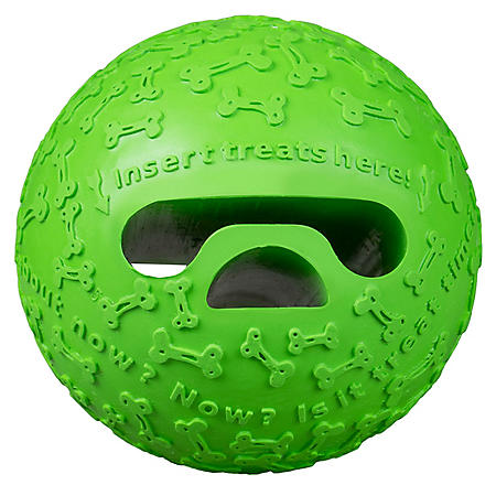 Premier Pet Treat Holding Ball Dog Toy, Medium