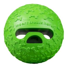 Premier Pet Treat Holding Ball Dog Toy, Large