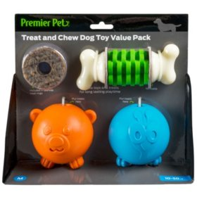 Premier Pet Dog Toy Value Pack, Medium (8 ct.)