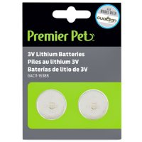 Premier Pet 3V Batteries (2 pk.)