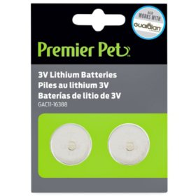 Premier Pet 3V Batteries (2 pk.)