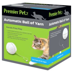 Premier Pet Automatic Ball of Yarn Cat Toy