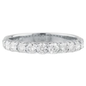 0.25 CT. T.W. 14-Stone Diamond Band Ring in 14K Gold (HI, I1)