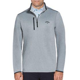 Callaway Men's Quarter Zip Fleece Pullover
