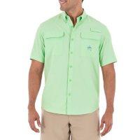 Guy Harvey Men's Short Sleeve Fishing Shirt