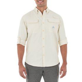 Guy Harvey Men's Long-Sleeve Fishing Shirt