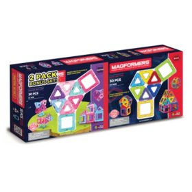 Magformers Rainbow & Inspire 30-Pc. Combo Pack or Magformers Neon & Classic 30-Pc. Combo Pack