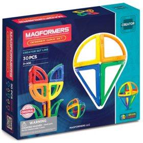 Magformers 30-Pc. Designer Curve Magnetic Set