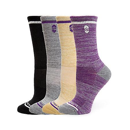 Free Country Ladies 4 Pack Outdoor Sock