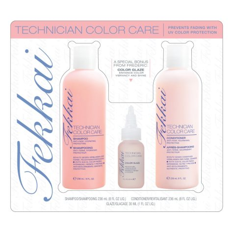 Fekkai Technician Color Care Shampoo/Conditioner with Bonus Glaze