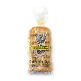 Hawaiian Bagel California Style Cinnamon Raisin Bagels (6 ct., 24 oz.)