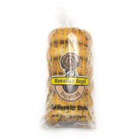 Hawaiian Bagel California Style Everything Bagels (6 ct., 24 oz.)