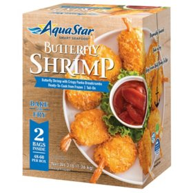 Aqua Star Frozen Butterfly Shrimp (3 lbs.)