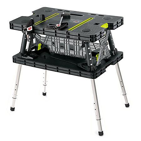 Keter Adjustable Folding Work Table