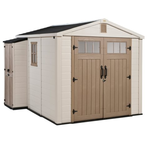 Infinity 8' x 9' Resin Storage Shed