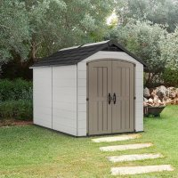 Deals on Keter Montfort 7.5-ft. x 11-ft. Resin Outdoor Storage Shed