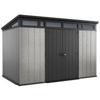 Deals on Keter Artisan 11-ft x 7-ft Customizable Storage Shed