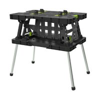 Keter Folding Work Table with Mini Clamps Deals